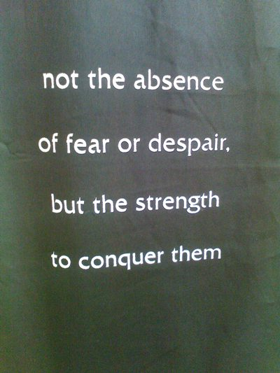 COURAGE is...